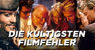 Wie viele kennt ihr? Die kultigsten Filmfehler (eine Auswahl)!