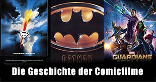 Comicverfilmungen im Wandel der Zeit
