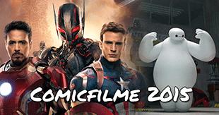 Die wichtigsten Comicfilme 2015