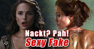 Sexy Fake: Filmstars, die doch nicht nackt waren