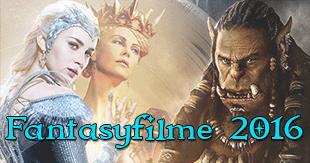 Die magischen Fantasyfilme 2016