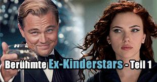 Berühmte Ex-Kinderstars - Teil 1
