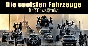 Die coolsten Autos aus Filmen und Serien