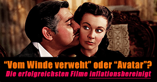 Die inflationsbereinigt erfolgreichsten Filme aller Zeiten