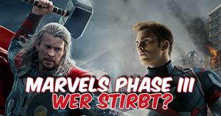 Gevatter Tod lauert: Wer wird Marvels Phase III nicht überleben?