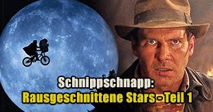 Stars, die aus Filmen rausgeschnitten wurden - Teil 1