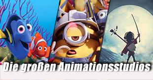 Die bekanntesten Animationsstudios