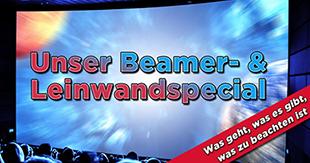 Großes Kino daheim: Unser Beamer- und Leinwandspecial für Filmfans & Gamer!