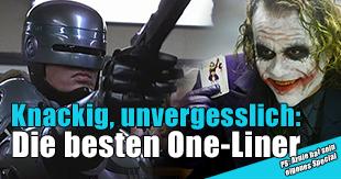 Die besten One-Liner in Kinofilmen