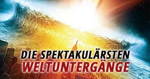 Die spektakulärsten Weltuntergangsszenarien in Filmen