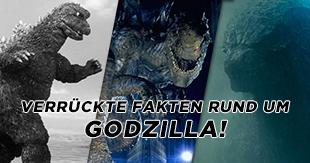 Verrückte Fakten rund um Godzilla!