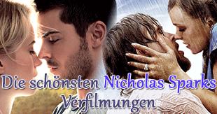Alle Nicholas Sparks-Filme - Die besten und schlechtesten