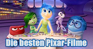 Die besten Pixar-Filme