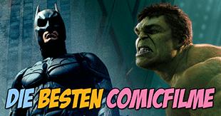 Die besten Comicfilme aller Zeiten