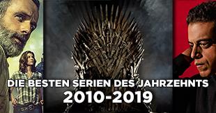 Die besten Serien der letzten 10 Jahre