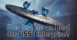 Wer bist du an Bord der USS Enterprise?