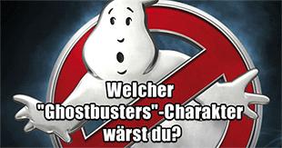 Welcher Ghostbusters-Charakter wärst du?