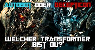 Hound, Bumblebee oder Starscream: Welcher Transformer bist du?
