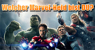 Welcher Marvel-Superheld bist du?