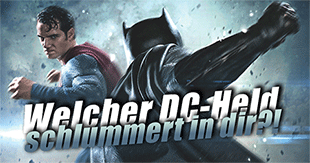 Weltretter vor: Welcher DC-Superheld bist du?