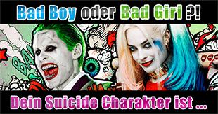 Welches Suicide Squad-Mitglied wärst du?