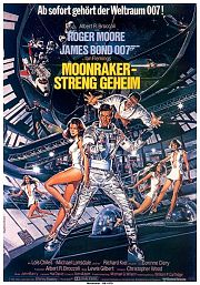 James Bond - Moonraker - Streng Geheim