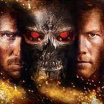 "Sam Worthington in ""Terminator 4"""