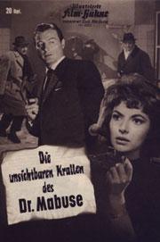 Alle Infos zu Die unsichtbaren Krallen des Dr. Mabuse
