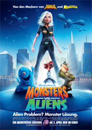 Alle Infos zu Monsters vs. Aliens