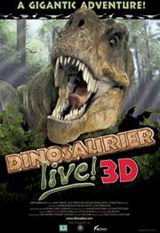 Dinosaurier Live 3D - Fossilien zum Leben erweckt