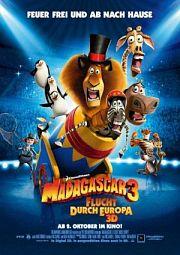 Alle Infos zu Madagascar 3 - Flucht durch Europa