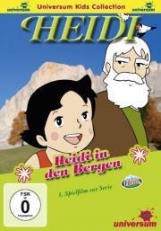 Heidi in den Bergen