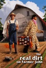 Mit Mistgabel und Federboa - Farmer John