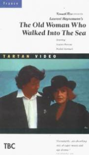 Die Dame, die im Meer spazierte