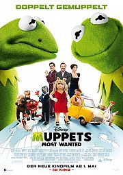 Alle Infos zu Muppets Most Wanted