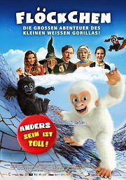Alle Infos zu Flöckchen - Die großen Abenteuer des kleinen weißen Gorillas!