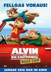 Alle Infos zu Alvin und die Chipmunks - Road Chip