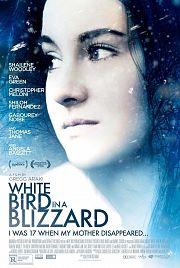 Wie ein weißer Vogel im Schneesturm