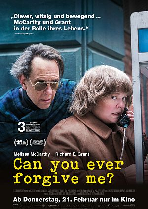 News zum Film Can You Ever Forgive Me?