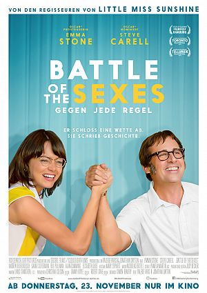 Alle Infos zu Battle of the Sexes - Gegen jede Regel
