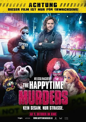 Alle Infos zu The Happytime Murders