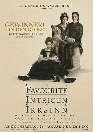 News zum Film The Favourite - Intrigen und Irrsinn