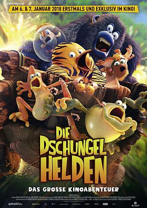 Alle Infos zu Die Dschungelhelden - Das große Kinoabenteuer