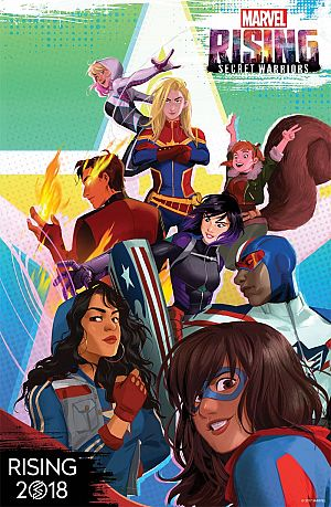 Marvel Rising - Secret Warriors