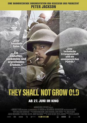 News zum Film They Shall Not Grow Old