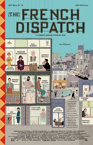 Alle Infos zu The French Dispatch