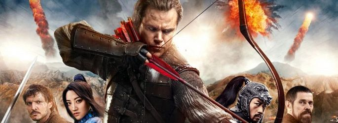 "Epischer Trailer: Fast neun Minuten ""The Great Wall"" + Neues Poster"
