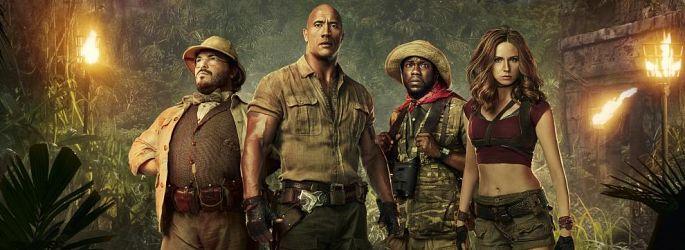 "Virtueller Dschungel: ""Jumanji""-Casting bestätigt die Story + Fotos & Videos"