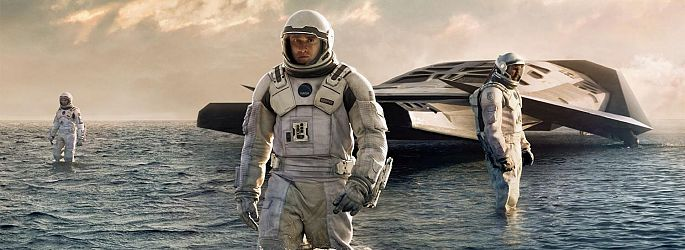 "Matthew McConaughey in Christopher Nolans ""Interstellar"""