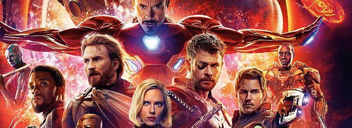 """""""Infinity War"""" ohne SIE und mit sieben Covern - Meiste Screentime für..."""